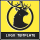 Deer Head Logo Template - GraphicRiver Item for Sale
