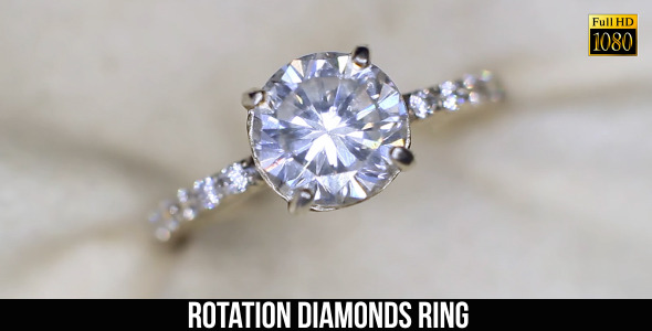 Rotation Diamonds Ring 3
