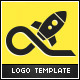 Space Launch Logo Template - GraphicRiver Item for Sale