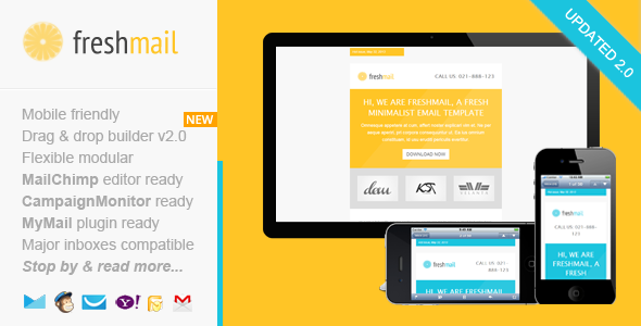 Freshmail, Responsive Email with Template Editor - Email Templates Marketing