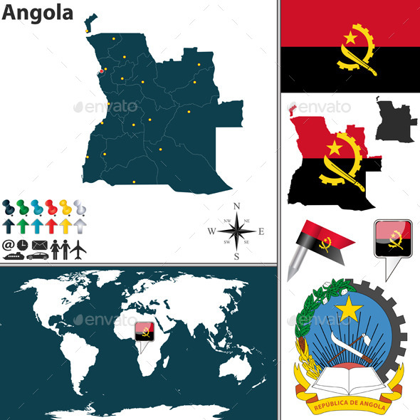 GraphicRiver Map of Angola 9260121