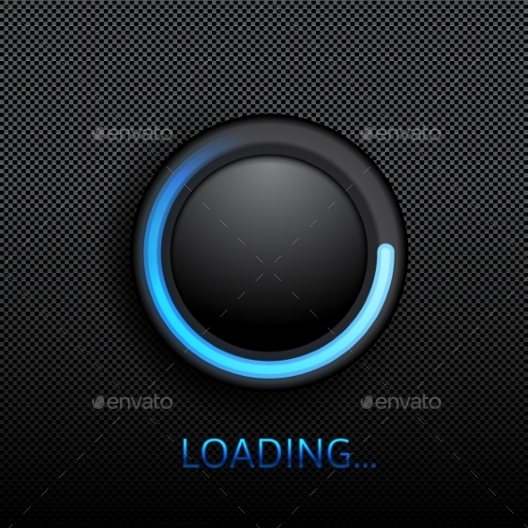 GraphicRiver Black Button 9260826