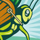Grasshopper Carrying Basket Of Grass Blade - GraphicRiver Item for Sale