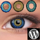 Colored Contact Lenses Virtual Try-on  - CodeCanyon Item for Sale