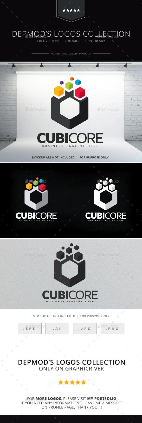 GraphicRiver Cubicore Logo 9261031