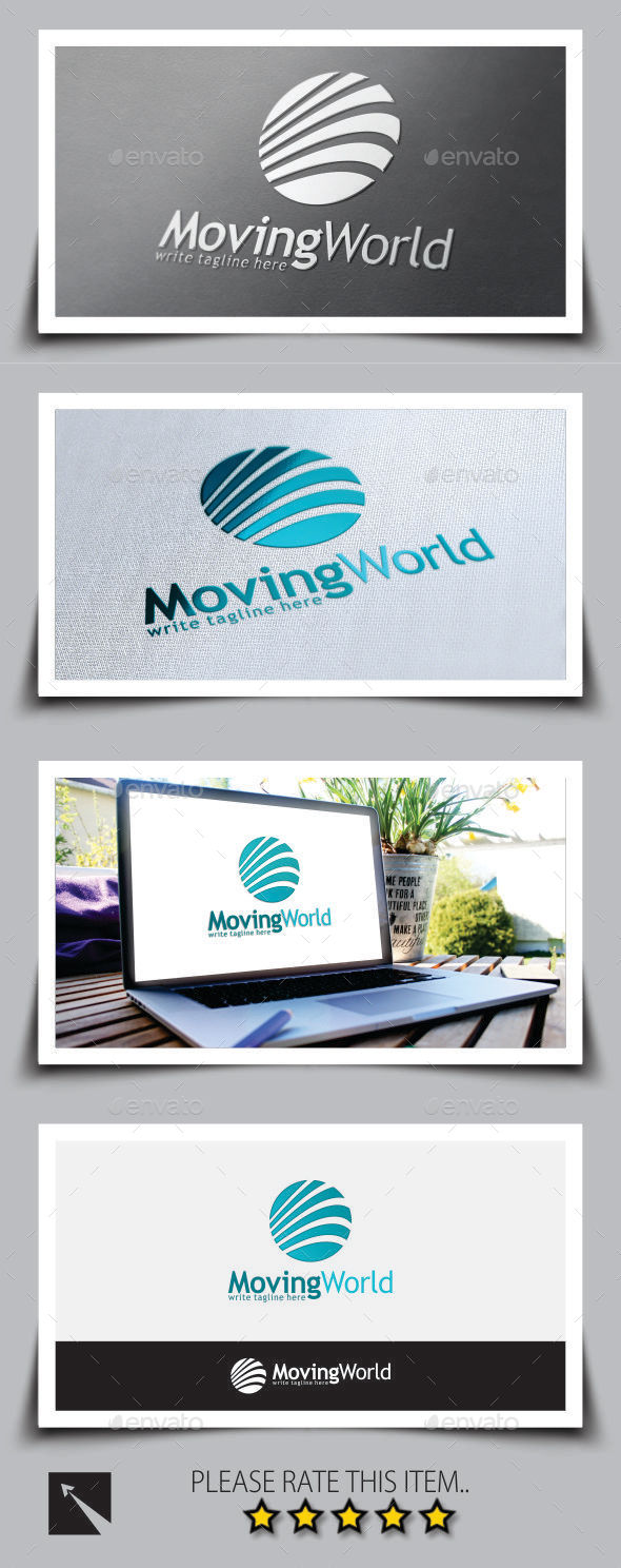 GraphicRiver Moving World Marketing Logo Template 9261467