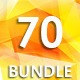70 Backgrounds Bundle - GraphicRiver Item for Sale