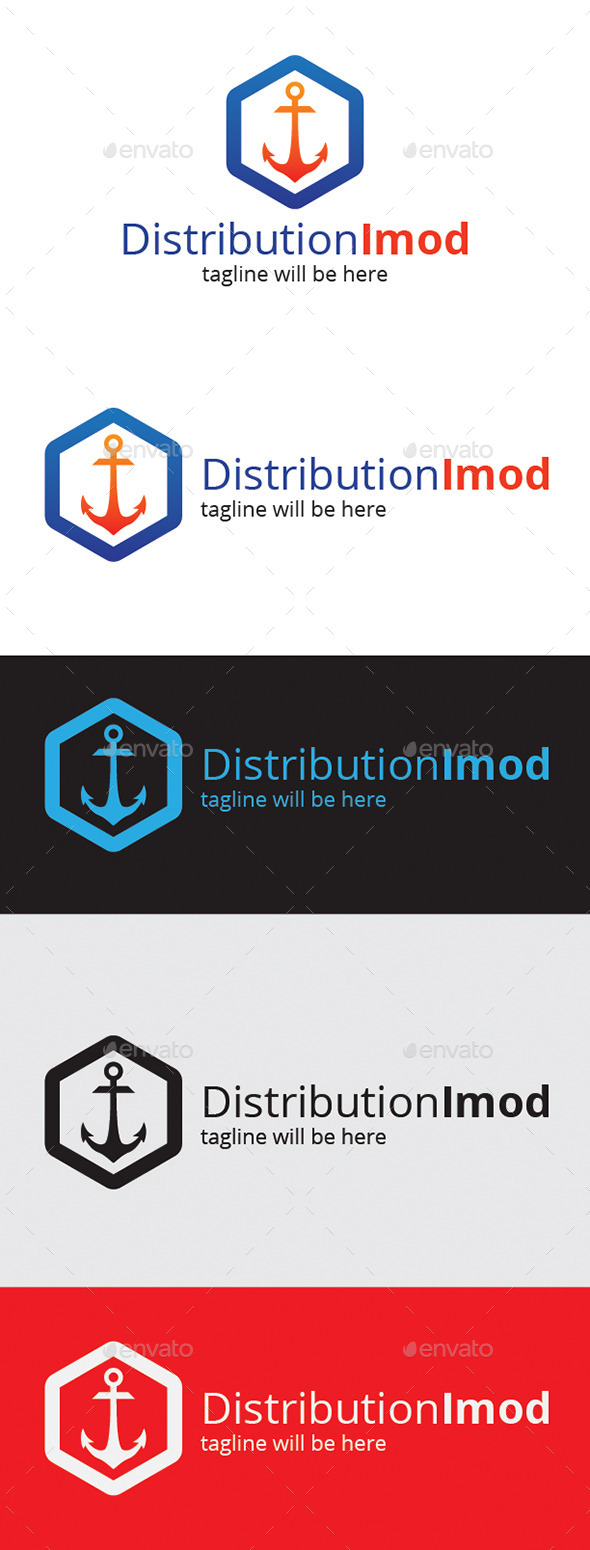 GraphicRiver Distribution Imod Logo 9261897