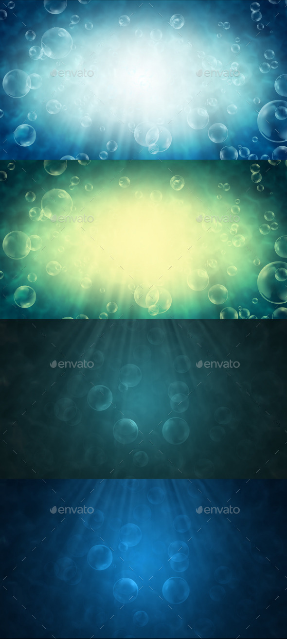 GraphicRiver Water Bubbles 9261944