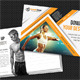 Sport Activity Postcard and FB Timeline V04 - GraphicRiver Item for Sale