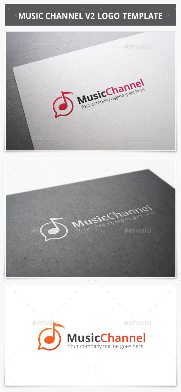 GraphicRiver Music Channel V2 Logo 9262046