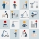 Engineering Icons  - GraphicRiver Item for Sale