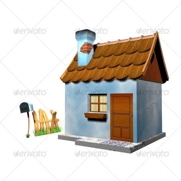 3DOcean Little house 117017