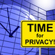 Time For Privacy Represents At Present And Confidentiality - PhotoDune Item for Sale