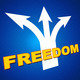 Freedom Arrows Indicates Break Out And Escape - PhotoDune Item for Sale