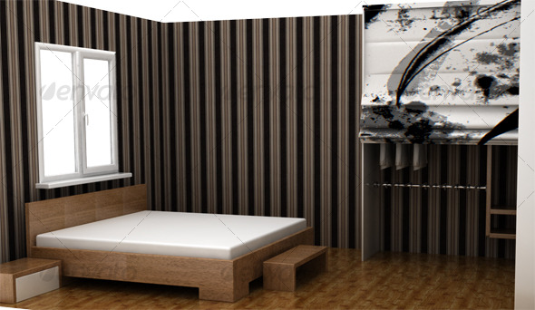 3DOcean Design Bedroom 118501