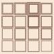 Set of Square Frames - GraphicRiver Item for Sale