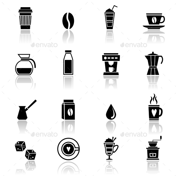 GraphicRiver Coffee Icons 9262805