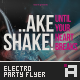 Shake Electro Party Flyer - GraphicRiver Item for Sale