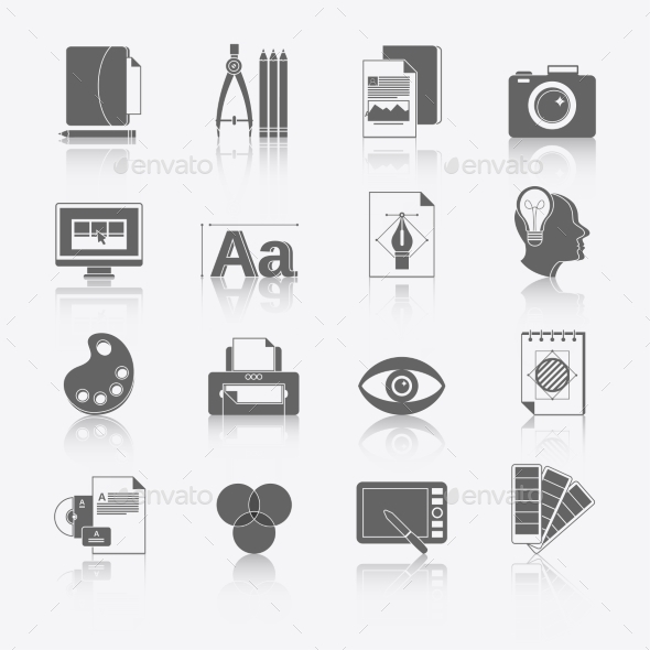 GraphicRiver Graphic Design Icons 9262849