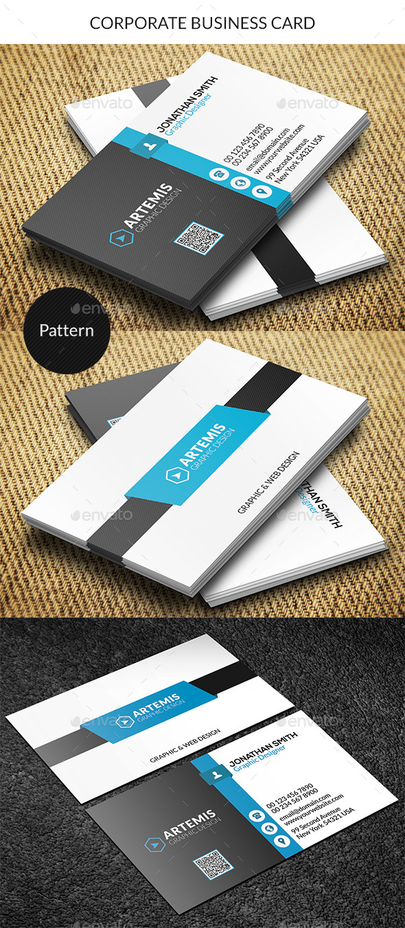 GraphicRiver Corporate Business Card 9262856