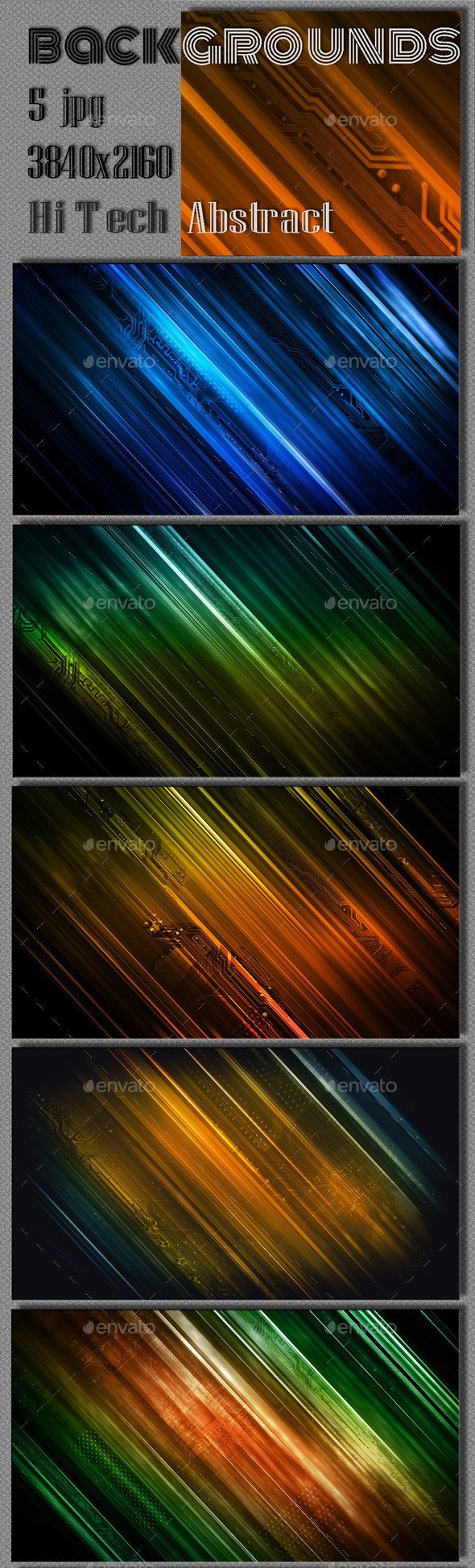 GraphicRiver Abstract Hi Tech Background 9263244