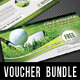 3 in 1 Golf Game Gift Voucher Bundle - GraphicRiver Item for Sale