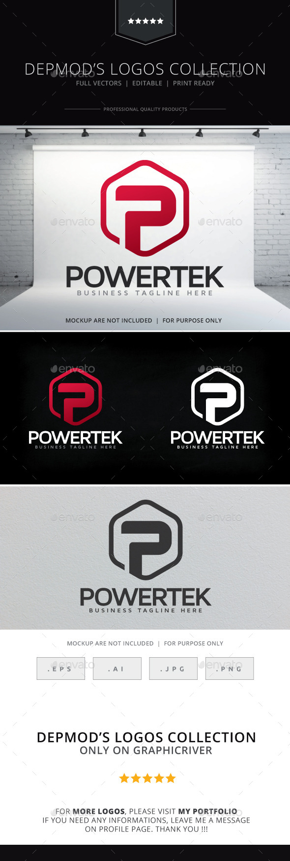 GraphicRiver Powertek V.02 Logo 9263676