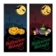 Halloween Banners or Flyers Concept.  - GraphicRiver Item for Sale