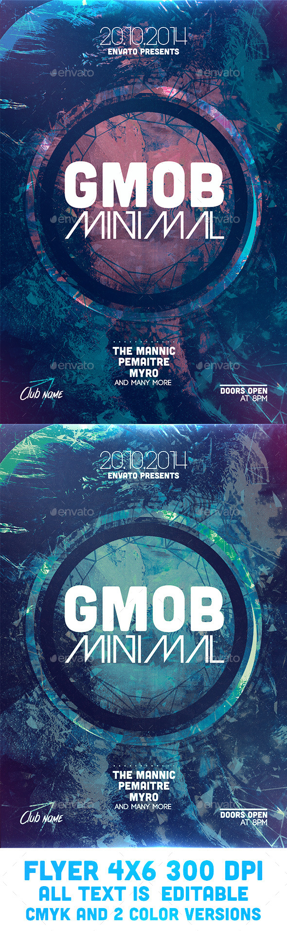 GraphicRiver GMOB Minimal Flyer Template 9263824