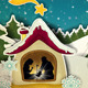 Nativity in the Snow - GraphicRiver Item for Sale