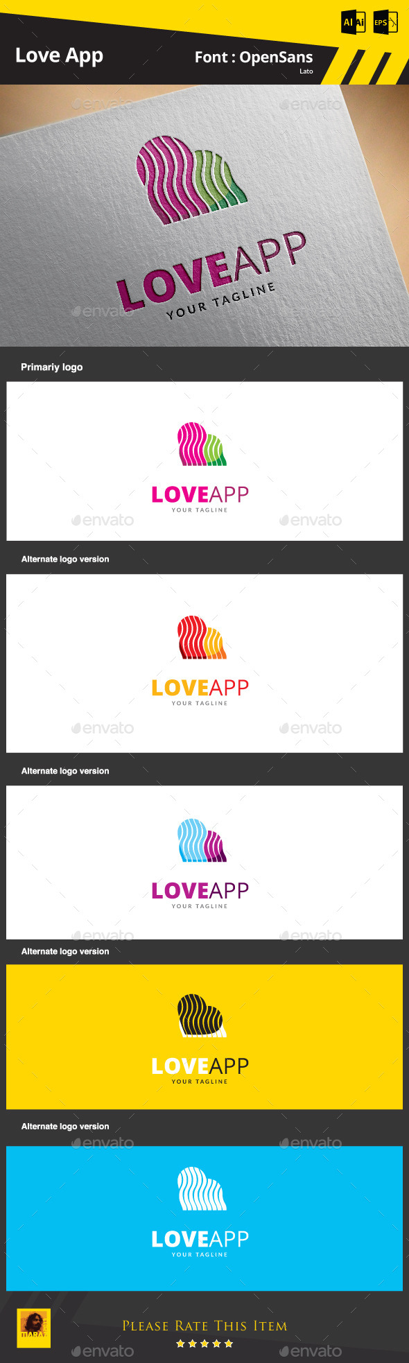GraphicRiver Love App 9263943