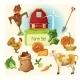 Farm Decorative Set - GraphicRiver Item for Sale