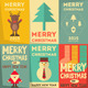 Christmas Posters Set - GraphicRiver Item for Sale