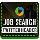 Job Search Twitter Header - GraphicRiver Item for Sale