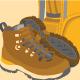 flat icon set vector of outdoor adventure activities
