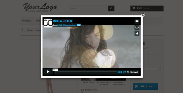 CodeCanyon Youtube And Vimeo Product Videos 9235329