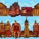Sketch City Seamless Border - GraphicRiver Item for Sale