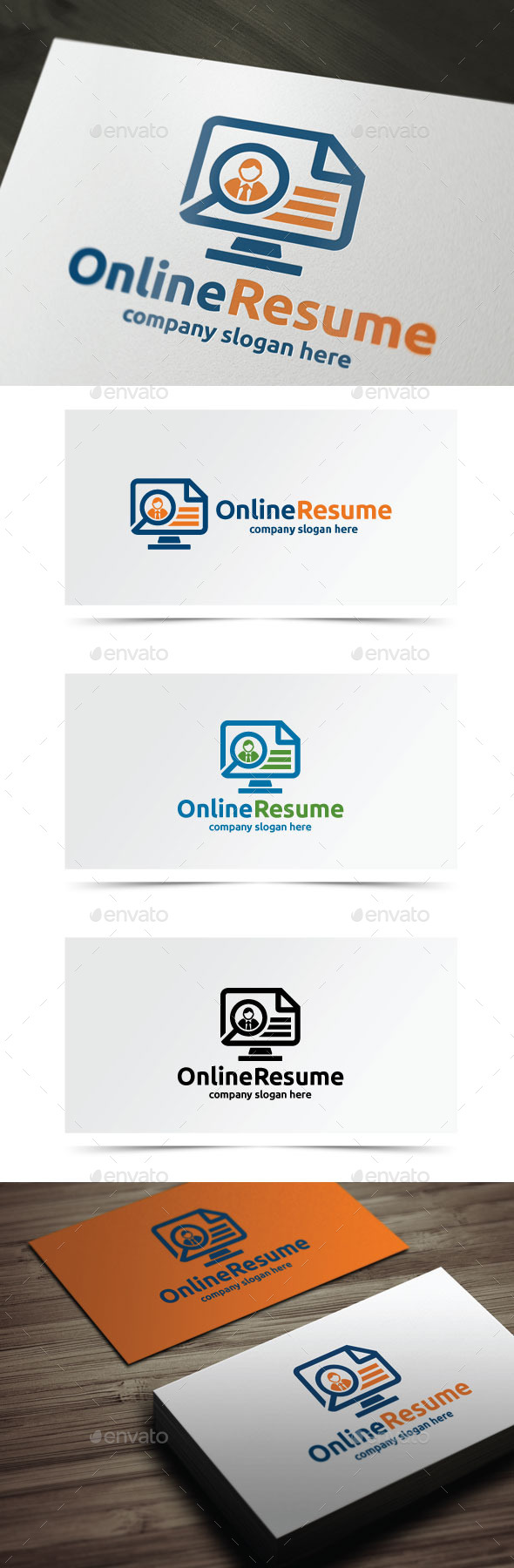 GraphicRiver Online Resume 9264256