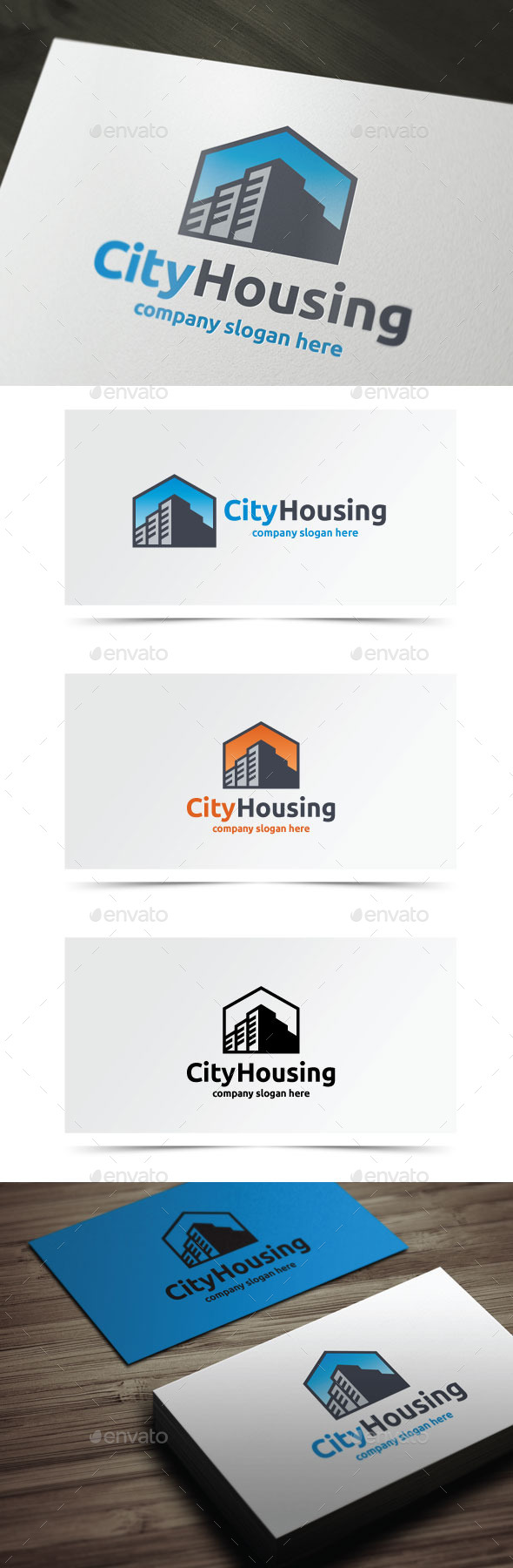 GraphicRiver City Housing 9264270
