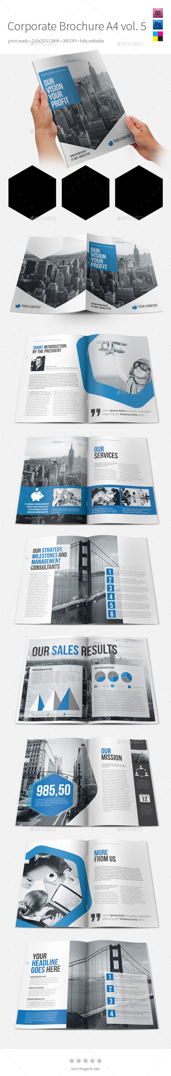 GraphicRiver Corporate Brochure A4 vol5 9264272