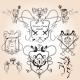 Heraldic Design Elements - GraphicRiver Item for Sale