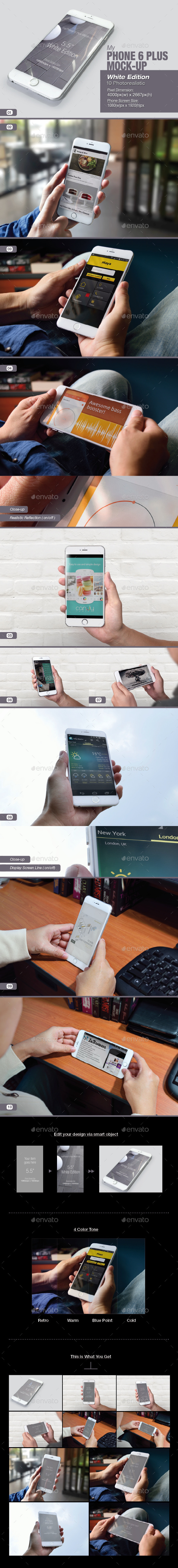 GraphicRiver myPhone 6 Plus Mock-up 9264584