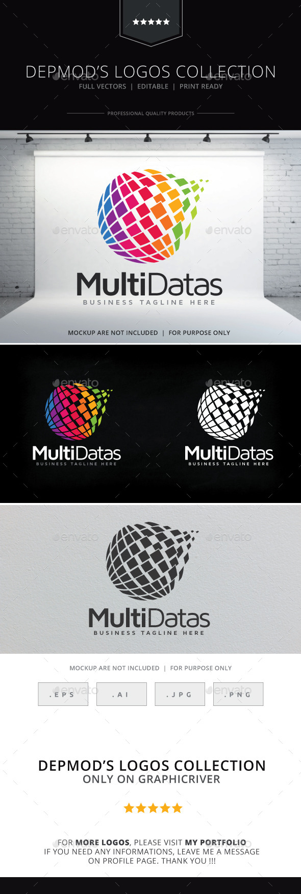 GraphicRiver Multi Datas Logo 9264593