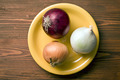various onions on plate - PhotoDune Item for Sale