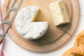 blue cheese on cutting board - PhotoDune Item for Sale