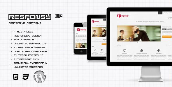 Responsy WP Responsive HTML5 Portfolio