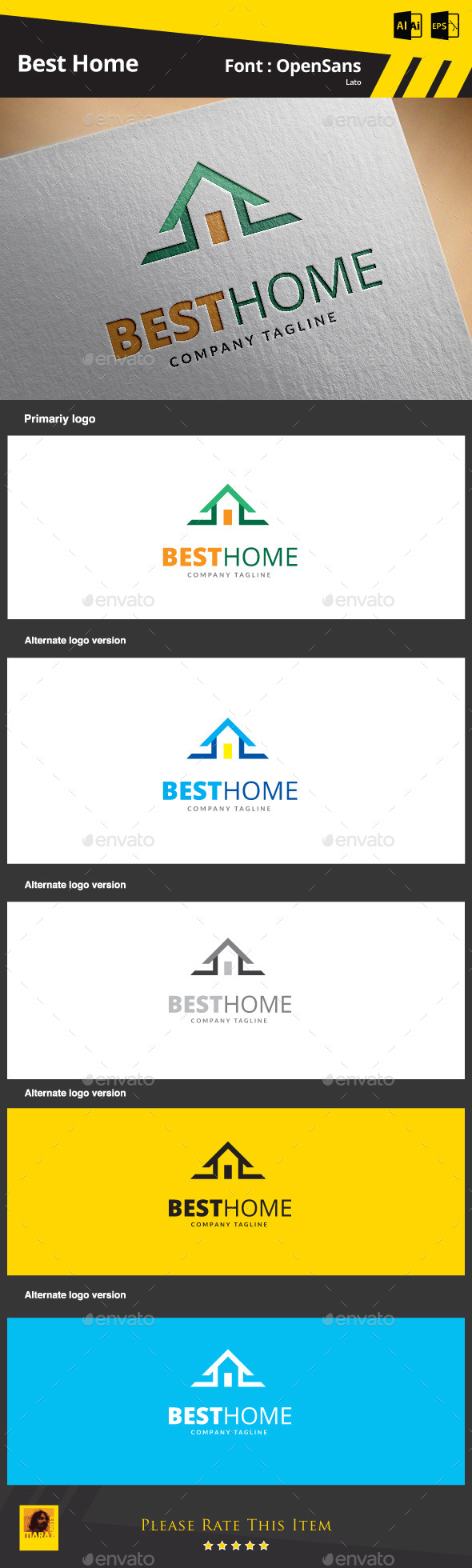 GraphicRiver Best Home 9265400
