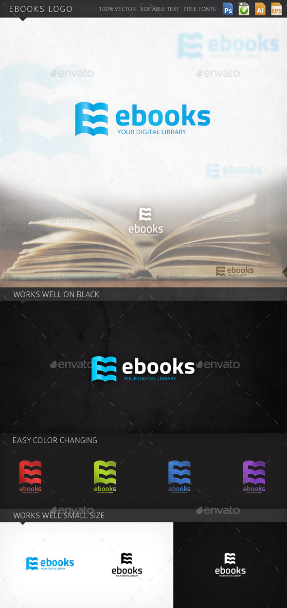GraphicRiver Ebooks Logo 9265404