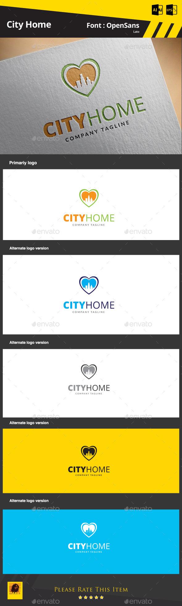 GraphicRiver City Home 9265541